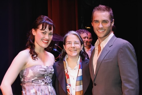 Ashley Brown, Michele Steckler (Senior Vice President, Creative Affairs for