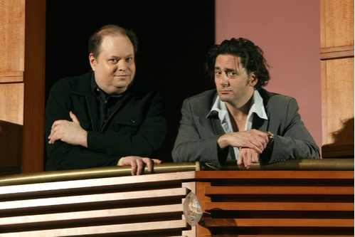 Richard Greenberg and Reg Rogers Photo