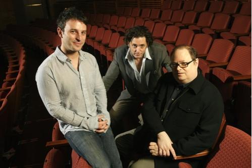 Trip Cullman, Reg Rogers, and Richard Greenberg Photo