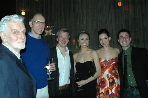 Herb Foster, William Ryall, Ryan Worsing, Liz Kimball, Katie Hagen and Travis Greisle Photo