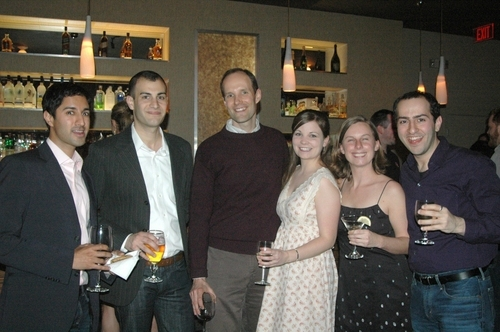 Maulik Pancholy, Ryan Corvaia, Richard C. Rauscher, Ruth Zang, Rebecca S. Fleming and Wesley Apfel
