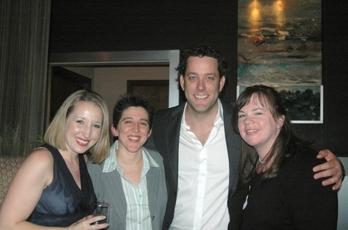 Pamela Adams, Mimi Intagliata, Michael Goddard and Heather Stern