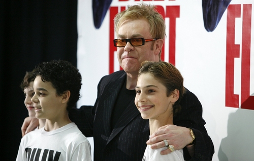 Elton John, Trent Kowalik, David Alvarez and Kiril Kulish
