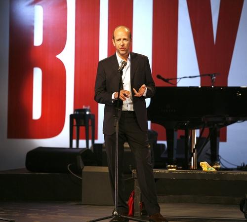 Eric Fellner at Preview Performance of 'Billy Elliot'