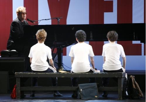 Kiril Kulish & David Alvarez & Trent Kowalik & Elton John