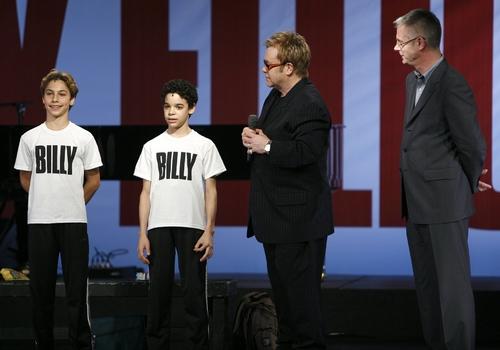 Kiril Kulish & David Alvarez with Elton John & Stephen Daldry