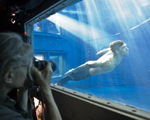 Annie Leibovitz shoots a merman-clad Michael Phelps.