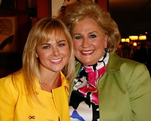 Photo of Laura Bell Bundy & her Mother  Lorna Bundy-Jones