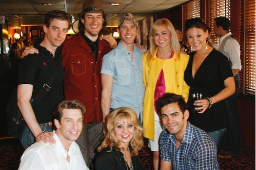 Christian Borle, Bryce Ryness, Paul Canaan, Laura Bell Bundy, Tracy Jai Edwards Andy Karl, Orfeh, and Matt Risch