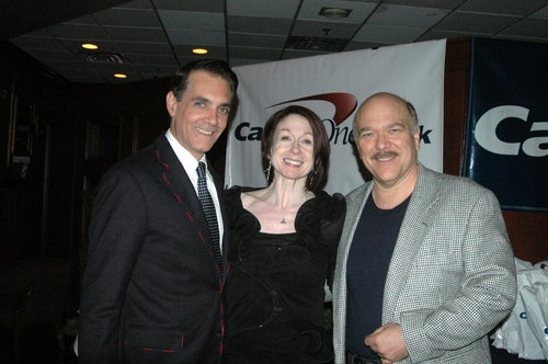David Monzione, Carol Schuberg and Scott Robertson Photo