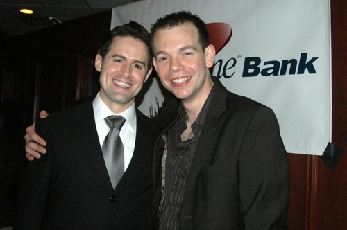 Ron DeStefano and Matt Wilson Photo