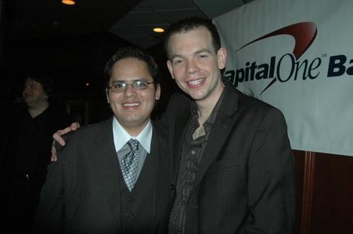 Robert A. Sherrill (Compnay Manager) and Matt WIlson Photo