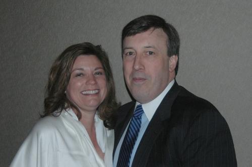 Cindy Gallo and John J. Ioris (Board of Trustees)
