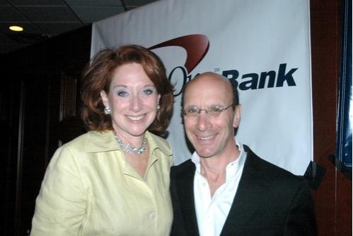 Ann Bernstein and Bill Fishman (Board of Trustees)