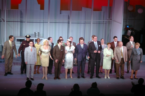 Cast of How to Succeed in