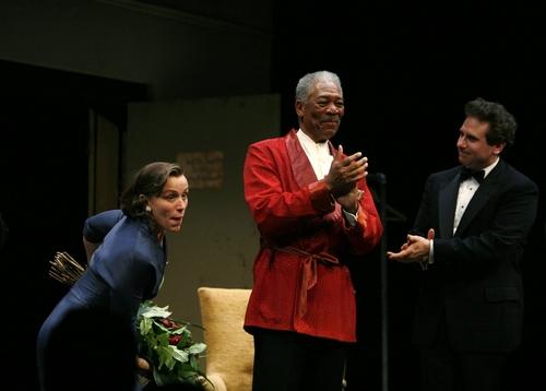 Frances McDormand, Morgan Freeman, and Remy Auberjonois
