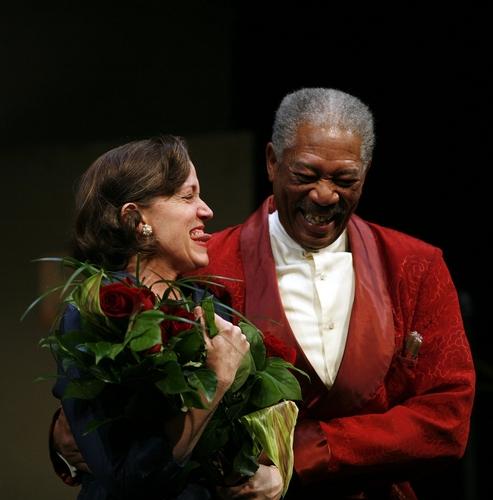 Frances McDormand and Morgan Freeman
