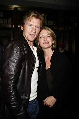 Denis Leary and wife