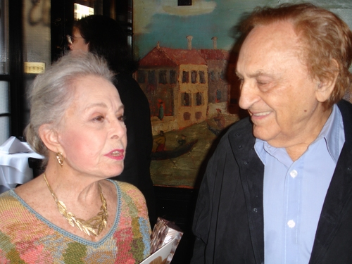 Marge Champion and Joe Stein at Fred & Adele Astaire Awards Toast Tommy Tune