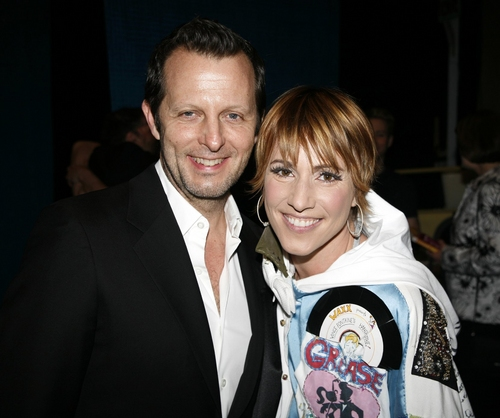 Lisa Gajda and Rob Ashford