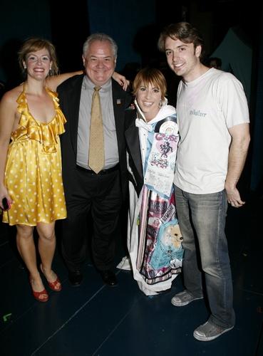 Lisa Gajda with AEA Exec. Dir. John P. Connolly, Elizabeth Stanley, and James Snyder
