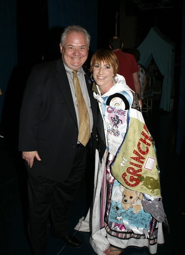 Lisa Gajda with AEA Exec. Dir. John P. Connolly