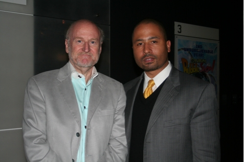 Rocco Landesman and Glen Martin (Fortune Society/ VP of Policy and Advocacy)