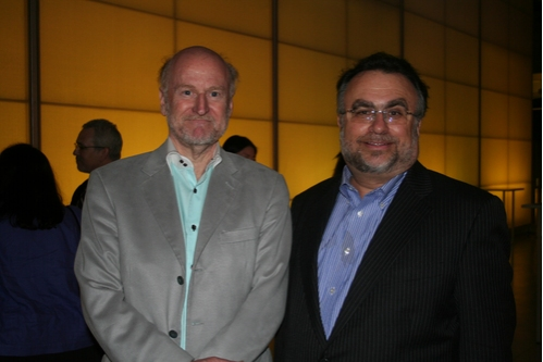 Benefit Co-Chairs Rocco Landesman and Richard Frankel