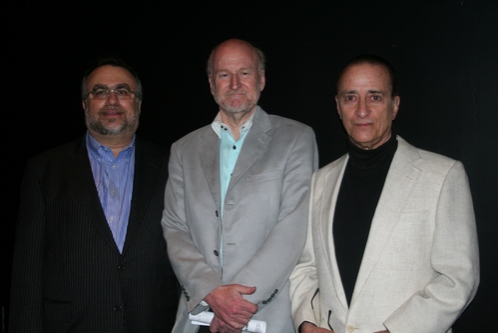 Richard Frankel, Rocco Landesman and David Rothenberg (Director)
