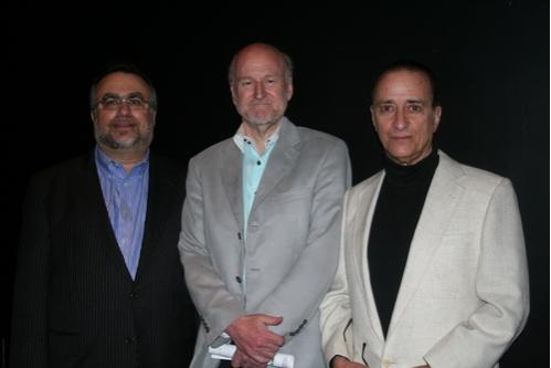 Richard Frankel, Rocco Landesman and David Rothenberg (Director)