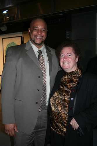 Stanley Richards (Fortune Society/Chief Operating Officer) and JoAnne Page (Fortune Society/President and CEO)