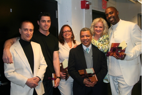 David Rothenberg, Casimiro Torres, Vilma Ortiz Donovan, Angel Ramos, Christine Ebersole and Kenneth Harrigan