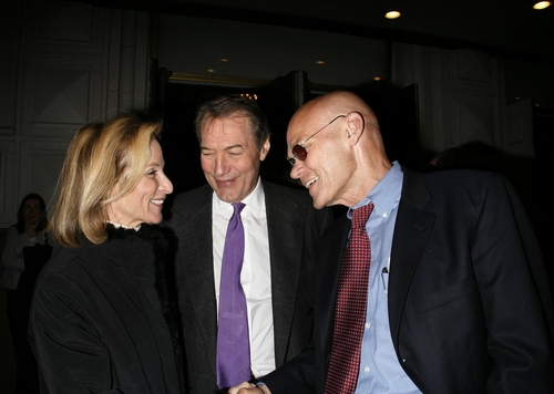 Charlie Rose and James Carville