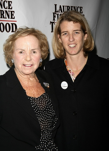 Ethel Kennedy and Rory Kennedy