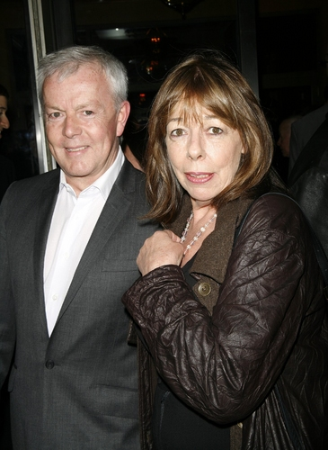 Frances de la Tour and John Barrett