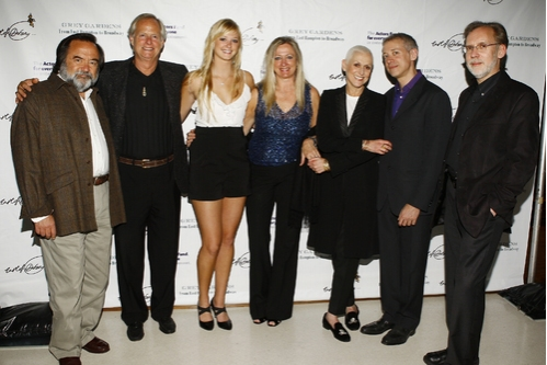 Lou Gonda, Bouvier Beale, Jr., Marie Beale, Eva Beale, Kelly Gonda, Scott Frankel and Michael Korie