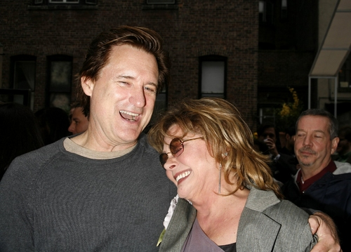 Bill Pullman and Elizabeth Ashley