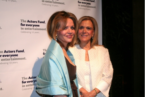 Renee Fleming and Anna Strasberg