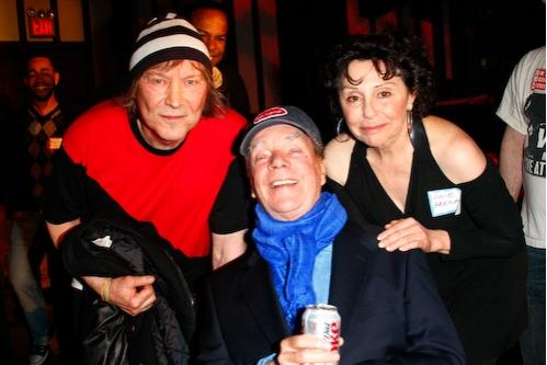 James Rado, Tom O'Horgan, and Julie Arenal