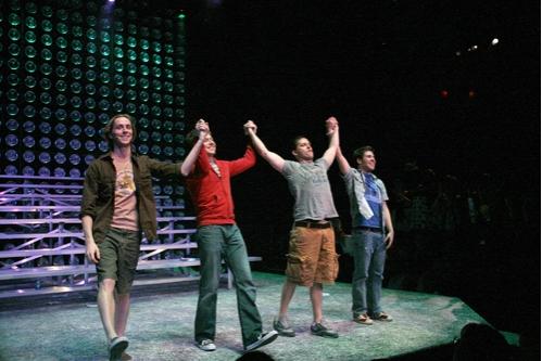 Adam Halpin, Steven Booth, Andrew C. Call, and Jesse JP Johnson