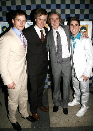 Andrew C. Call, Steven Booth, Adam Halpin and Jesse JP Johnson