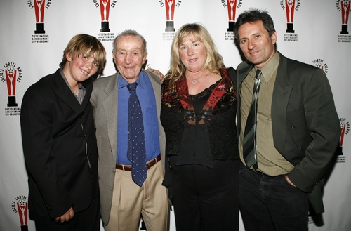 Theodore Mann and family