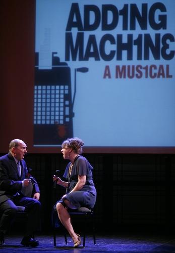 Joel Hatch and Amy Warren ( THE ADDING MACHINE )