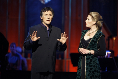 Gabriel Byrne and Marin Mazzie