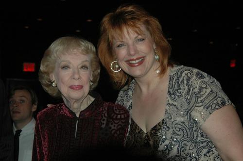 Joyce Randolph and Devlin