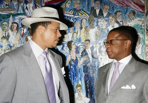 Terrence Howard and Stephen Byrd Photo