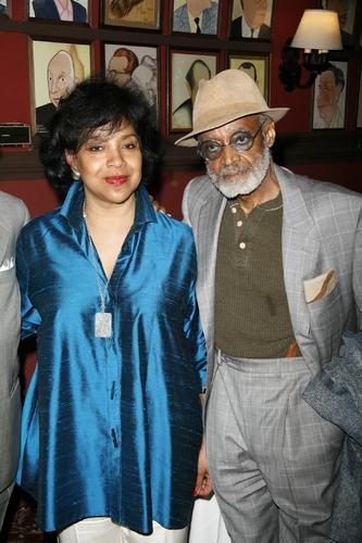 Phylicia Rashad and Melvin Van Peebles