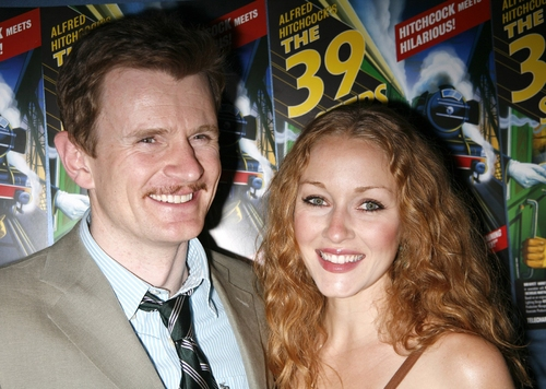 Photo Coverage: 39 STEPS Opening