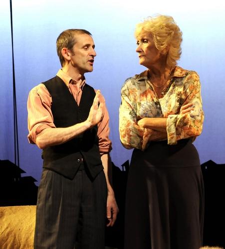 Glyn Pritchard and Jennifer Hill