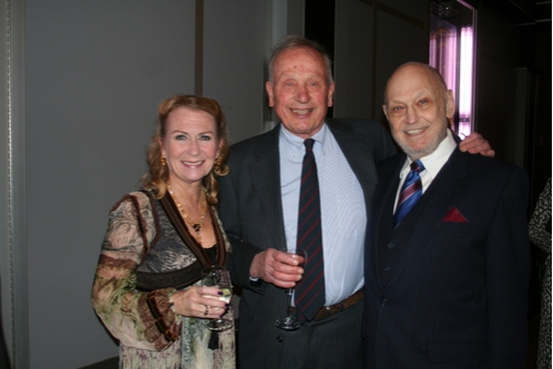 Juliet Mills, A.R. Gurney and Charles Strouse Photo